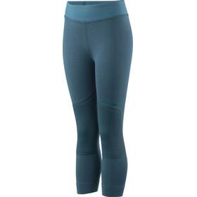 Houdini Kids Alpha Long Johns Abyss Green